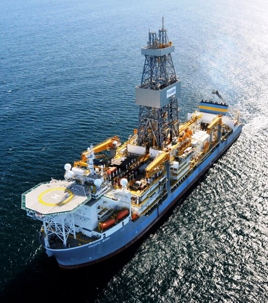 Pacific Borda drillship