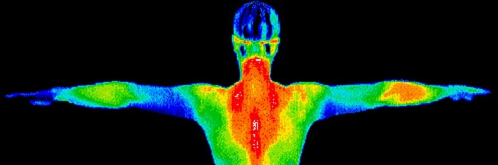 thermal image human body