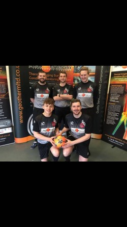 The Goats FC with Geo Therm Ltd sponsorship 2