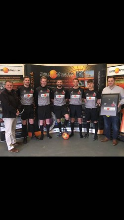 The Goats FC with Geo Therm Ltd sponsorship