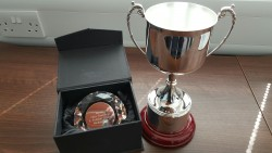 Geo Therm Ltd trophy for LT College Eng Students