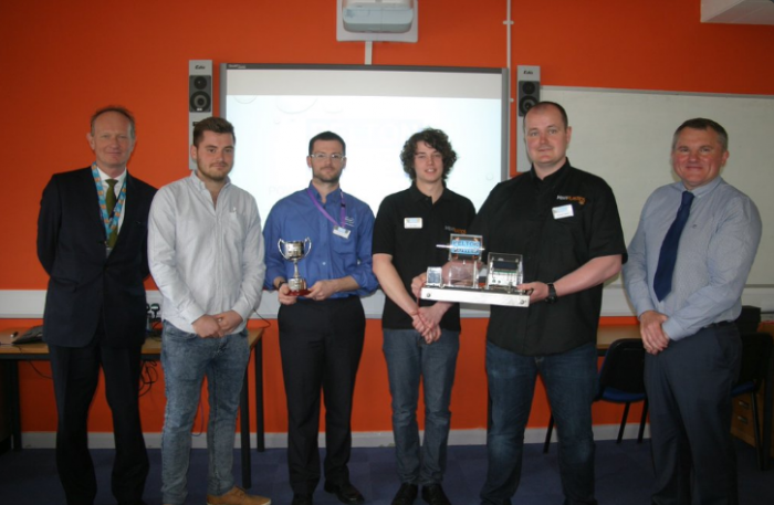 LT College FdSc Eng Degree module winning Students 2016 - sponsored by Geo Therm Ltd