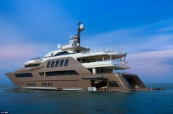 Geo Therm Ltd - ultrasound inspections - super yacht with garage