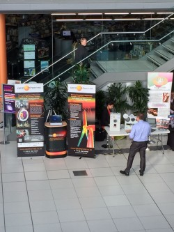 Geo Therm Ltd exhibit from the balcony