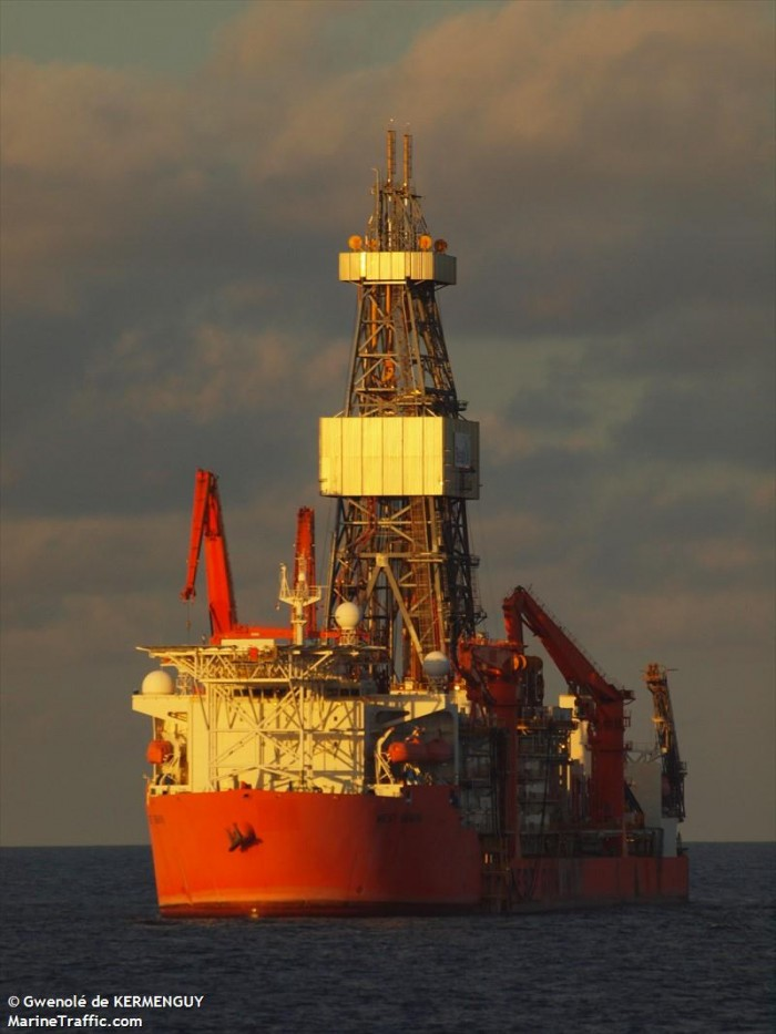 west gemini drillship uses Geo Therm Ltd services offshore Angola
