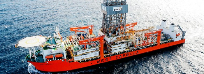 Seadrill West Capella drillship image