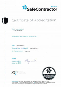 GeoThermLtd Safe Contractor Cert May2021-22